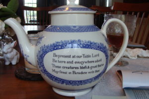John Wesley Prayer Teapot