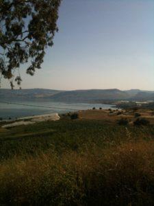 Mt. of Beatitudes in Galilee
