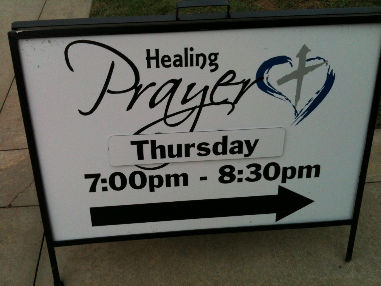 how to start a healing prayer service - prayer ideas