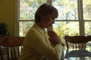 praying at window