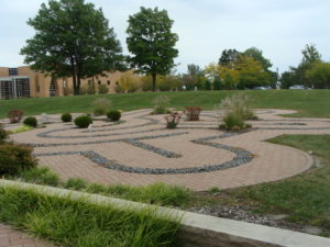 Prayer labyrinth, Valparaiso University